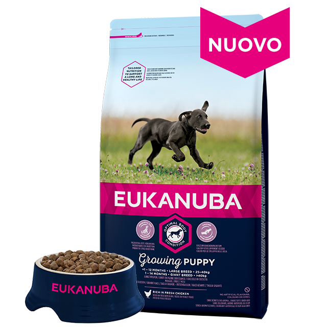 Alimento Secco Per Cucciolo Di Taglia Grande Pollo Eukanuba