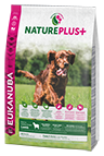 EUKANUBA Nature Plus+ Puppy & Junior Rich in freshly frozen Lamb