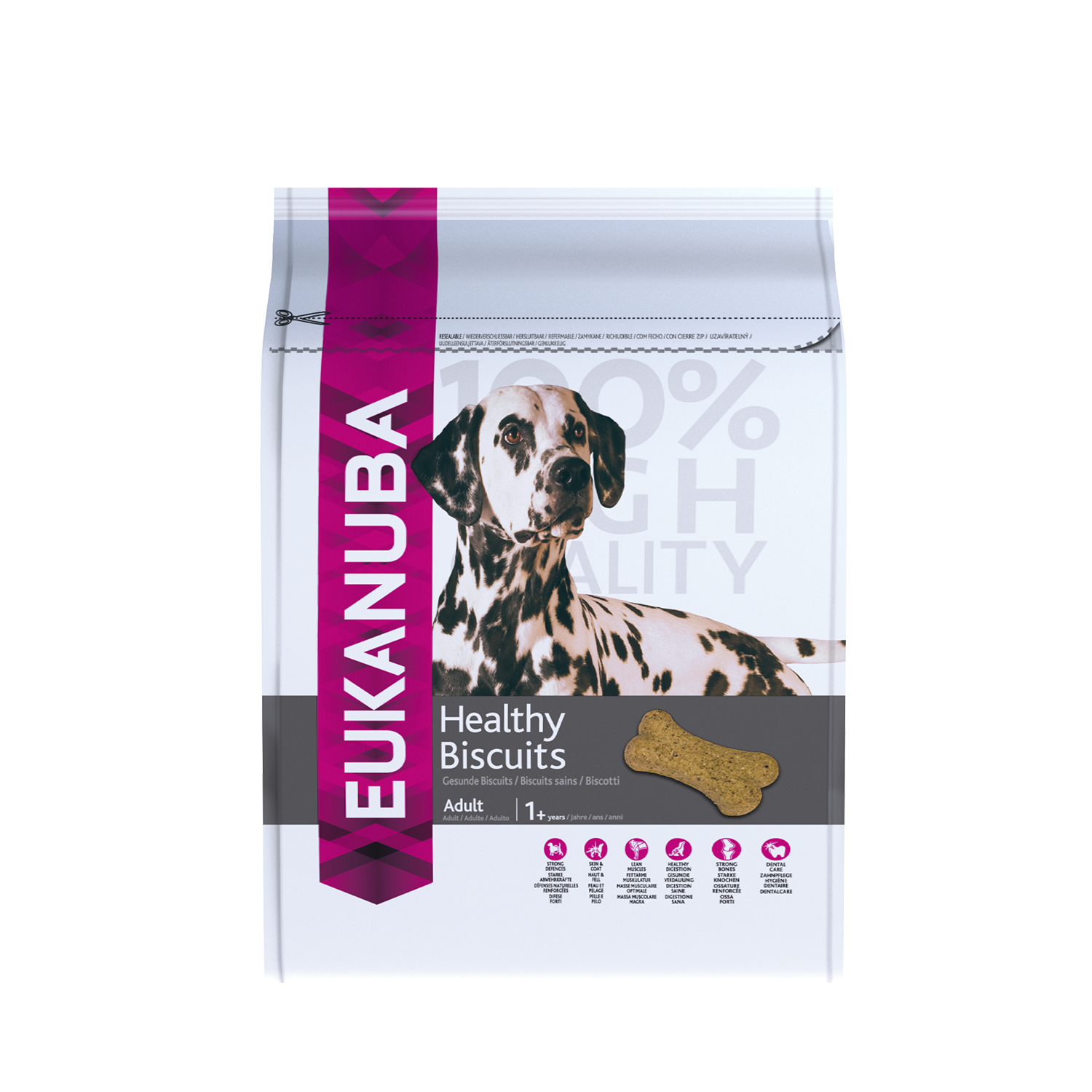 Eukanuba Adult Dog Treats Healthy Biscuits For All Breeds RTP FOP