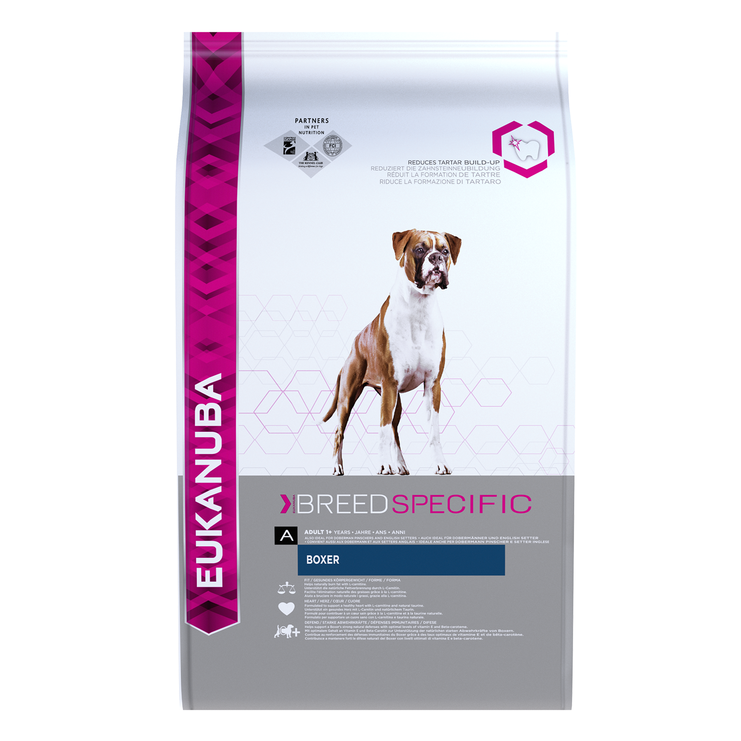 EUKANUBA Adult Dry Dog Food For Boxer Chicken RTP FOP