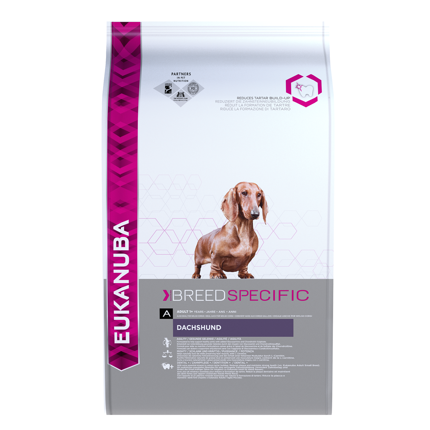 Eukanuba Adult Dry Dog Food For Dachshund Chicken RTP FOP