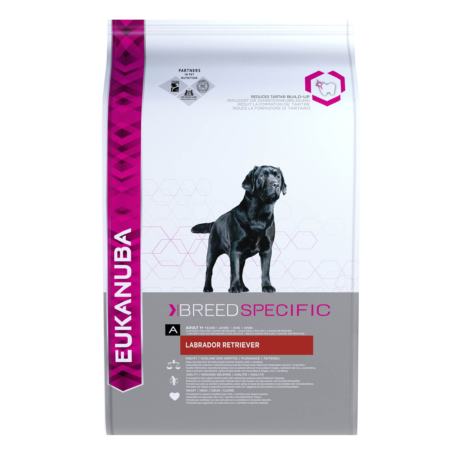 EUKANUBA Adult Dry Dog Food For Labrador Retriever Chicken RTP FOP