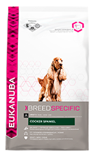 EUKANUBA Adult Dry Dog Food For Cocker Spaniel Chicken RTP FOP