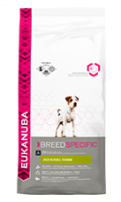 EUKANUBA Adult Dry Dog Food For Jack Russell Terrier Chicken RTP FOP