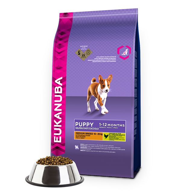 Eukanuba Puppy Junior Dog Food Medium Breed Uk